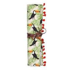 Toucan Jewellery Roll by Fenella Smith London