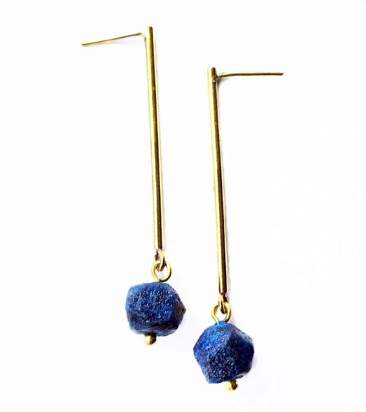 Quazi Design Recycled Magazine Earrings