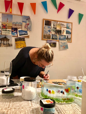 Introduction to Fused Glass - 2.5 hours - Monday 23rd September 2019