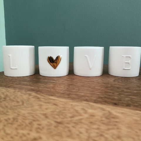 Love Lights, Set of Four