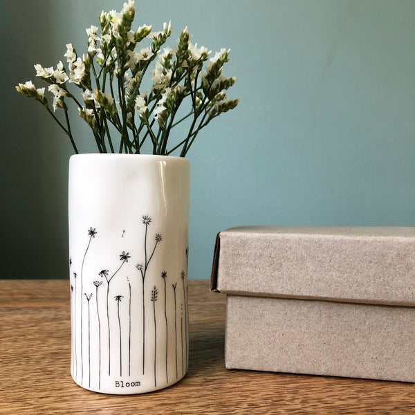 'Wild Flowers'/ 'Bloom' Porcelain Vase
