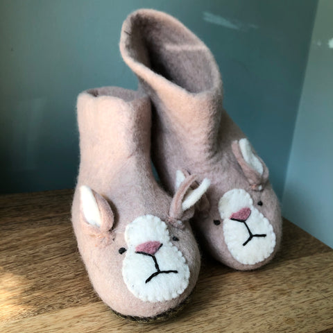 Grumpy Rabbit Slippers for Adults and Children