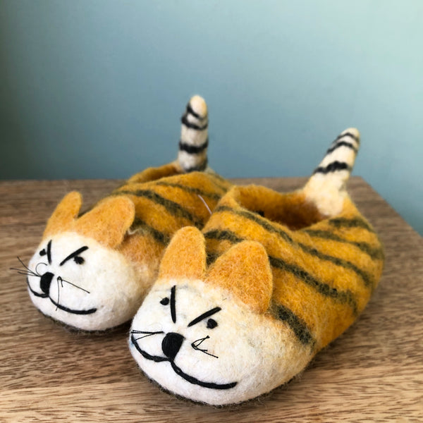 Tiger Feet in Child and Adult sizes