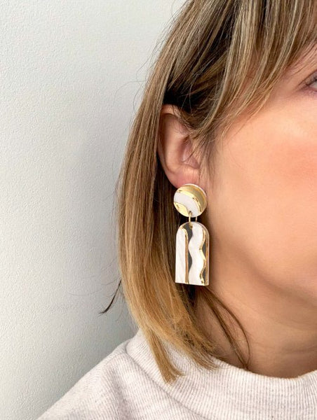 Aurora Statement Earrings