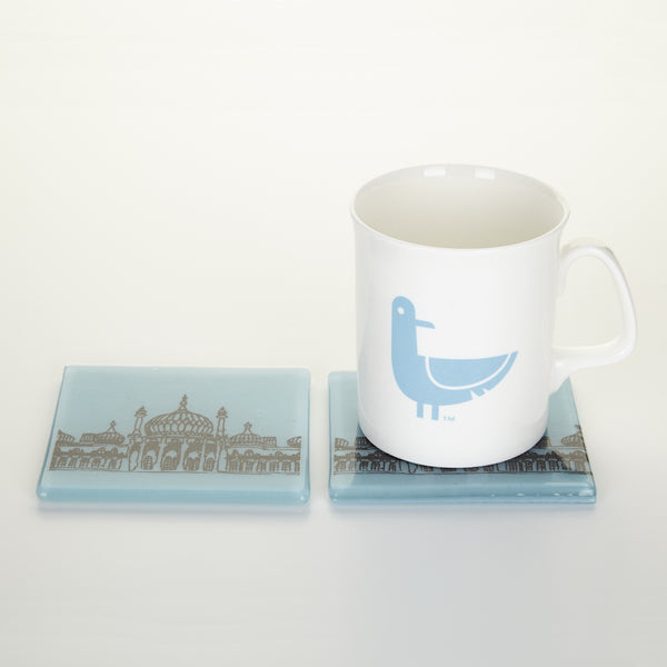 Set of Two Royal Pavilion Coasters