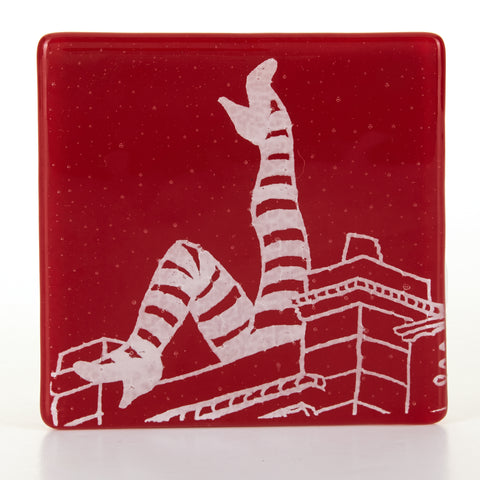 Duke of York's Legs Coaster, white