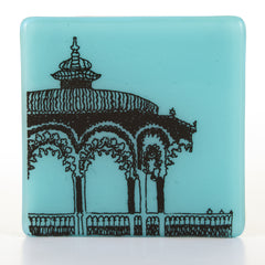 Brighton Bandstand Glass Coaster, Brighton Gift