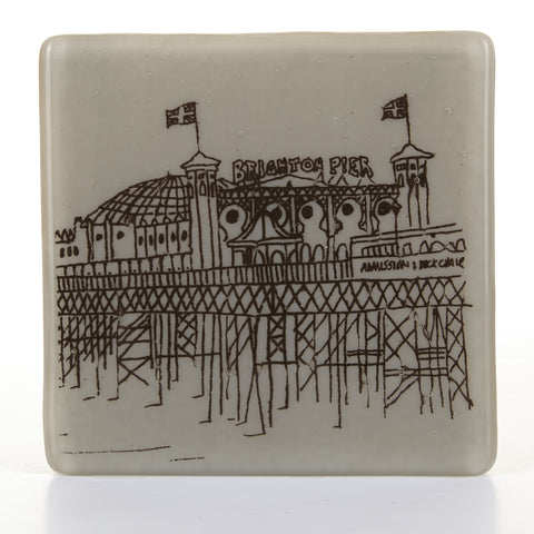 Palace Pier Glass Coaster