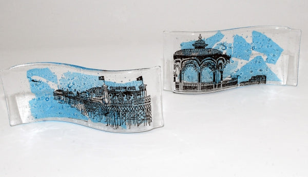 Available as a set of 2 with Brighton bandstand