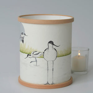 """Avocet"" Candle Cover"