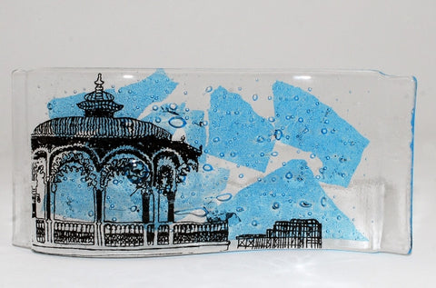 Brighton Illustrated Series, Bandstand Glass Wave