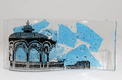 Handmade Glass Brighton Bandstand and West Pier