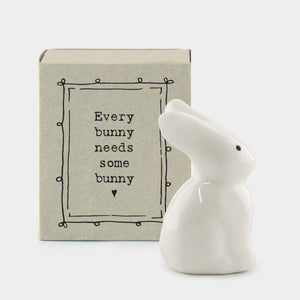 Matchbox Rabbit - 'Every bunny needs some bunny'