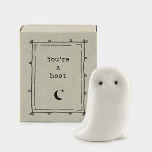 Matchbox Owl 'You're a Hoot'