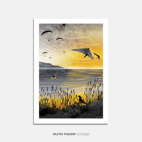 'Sunset Flight' by Ruth Thorp