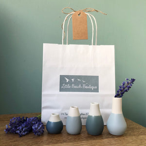 A Little Bag of Mini Vases
