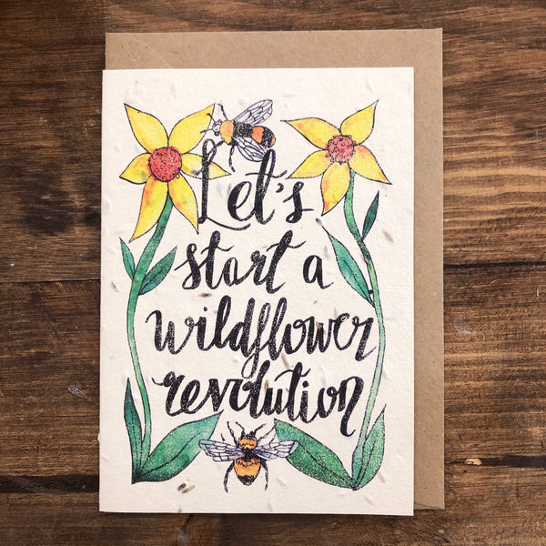 Wildflower Seed Cards