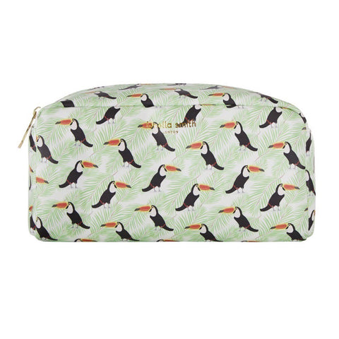 Toucan Vegan leather box wash bag