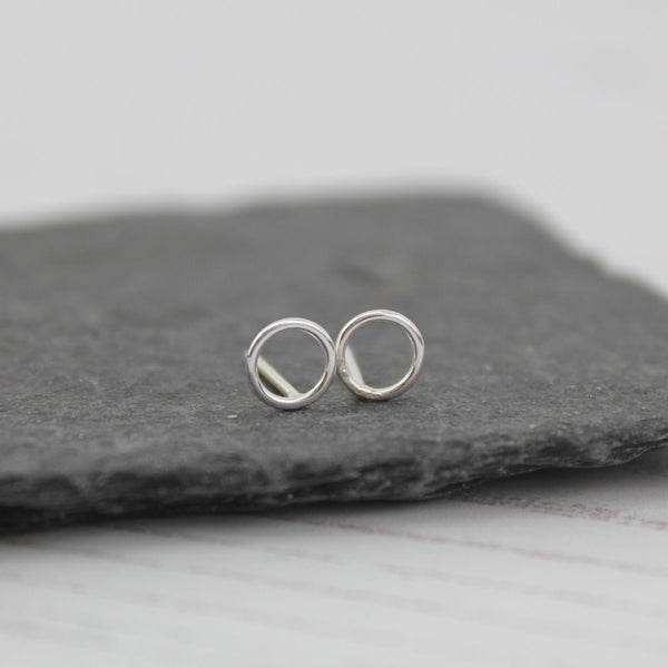 Sterling silver mini studs