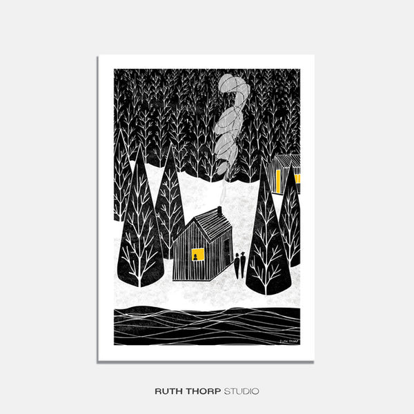 'Cabin' by Ruth Thorp