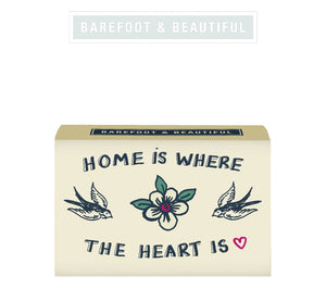 """Home Is Where The Heart Is"" Soap Bar"