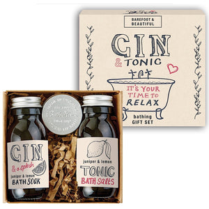 Gin and Tonic Bathing Gift Set