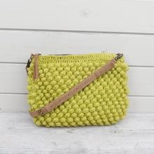 Knit Wool Crochet Bobble Cross Body Handbag