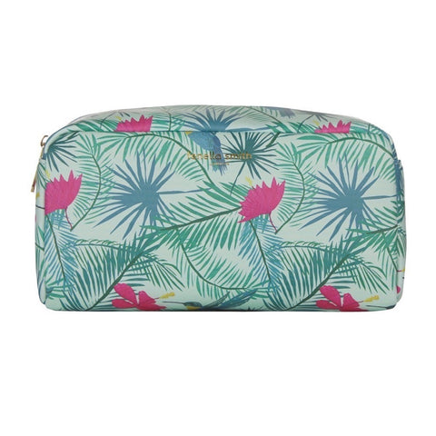 Hummingbird Vegan Leather Box Wash Bag