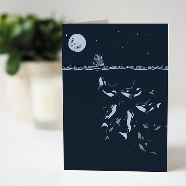 'Tails of the Sea' Cards by Dario Fisher