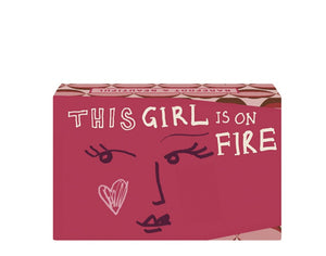 'This Girl is on Fire' Amber Flowers Soap