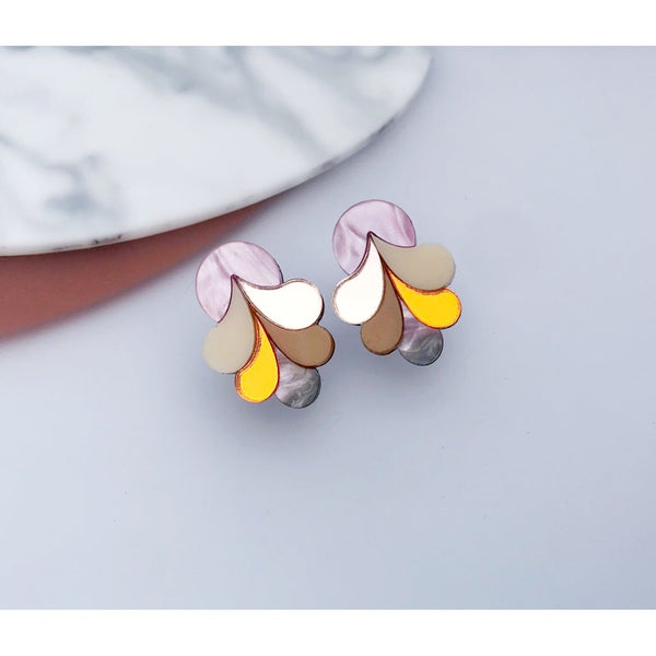 Psychedelic Statement Studs
