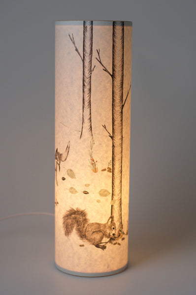 """Woodland"" Lamp / Candle Cover"