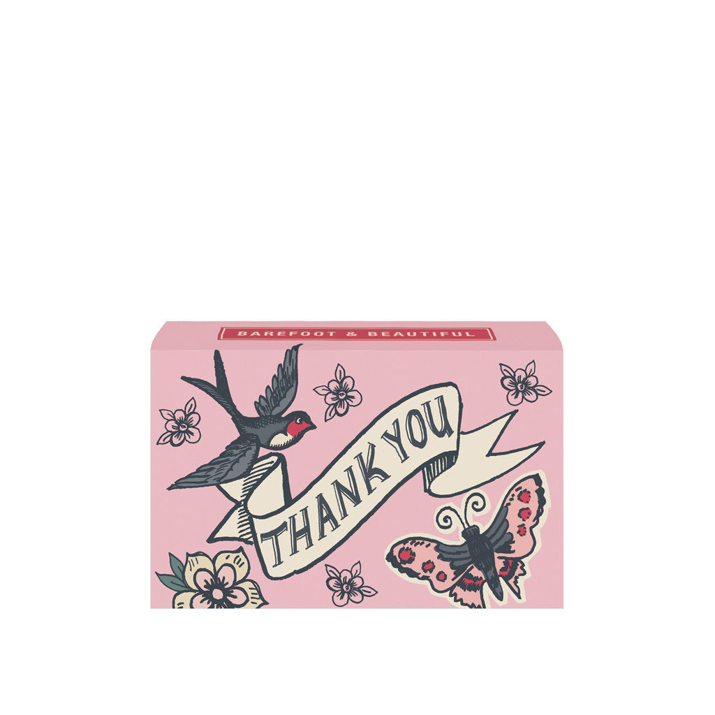 'Thank you' Wild Rose Soap