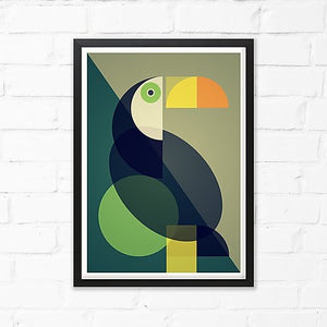 Toucan Art Print by Cloud Cuckoo design