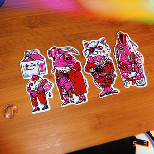 TREASURE HUNTER STICKER PACK