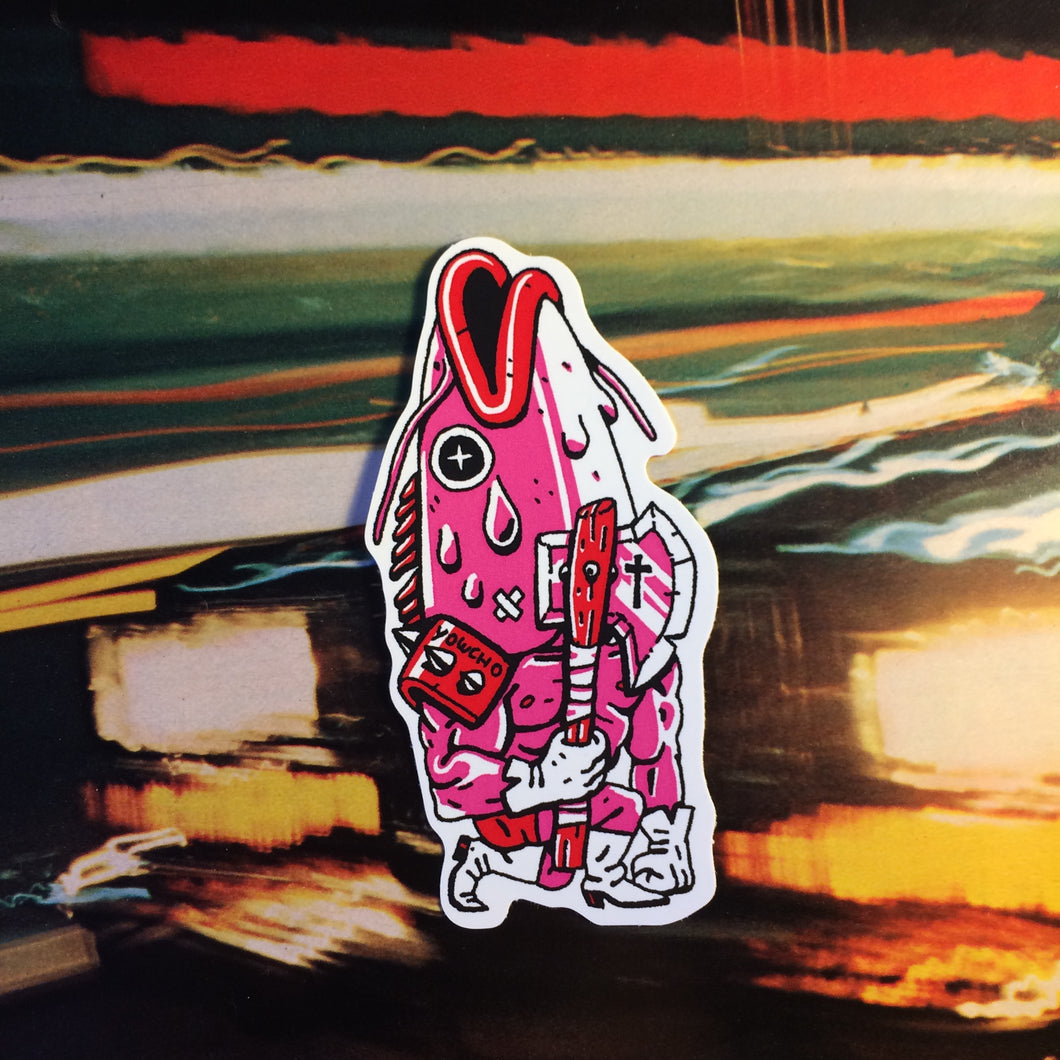 FISHARIO VINYL STICKER