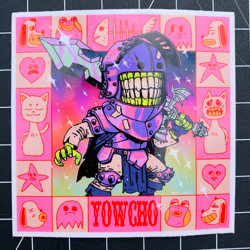 PHANTOM SWORDSMAN STICKER