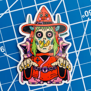 SID THE DUNGEON KEEPER STICKER
