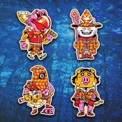 ROYAL GUARD STICKER PACK