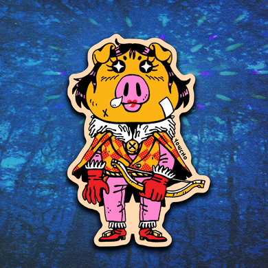 ROYAL HUNTER STICKER