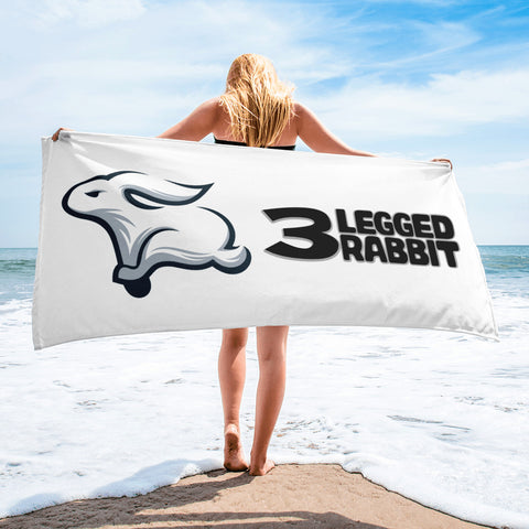 3 Legged Rabbit Towel