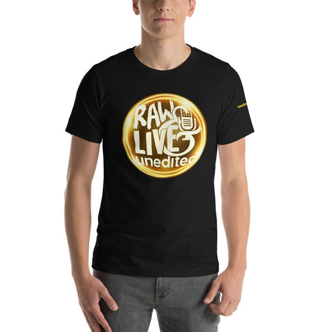 Raw Live & Unedited Circle Tee