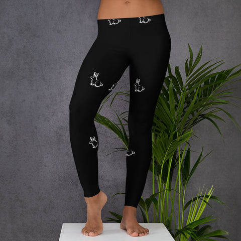 All Over Rabbit Leggings