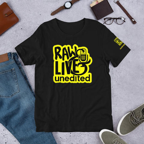 Raw Live & Unedited Classic Tee