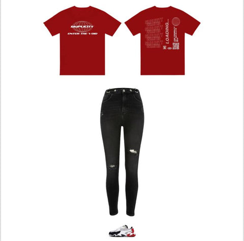 Red Enter The Void Outfit 1