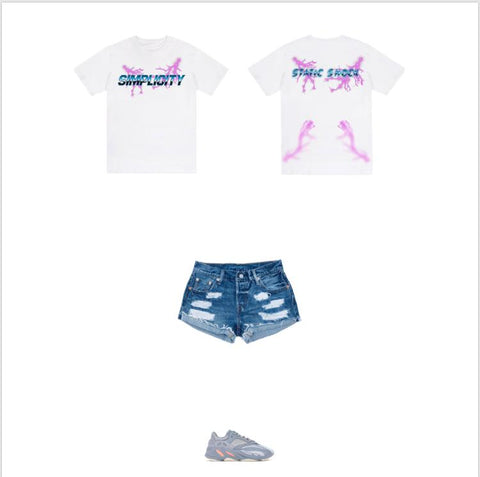 White Static Shock outfit 1