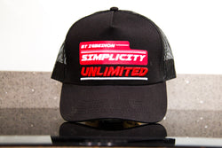 Black & Red Unlimited Tucker Cap