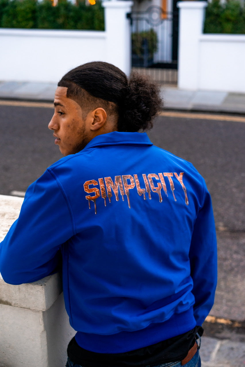 Simplicity Rest Is For The Weak jersey jacket