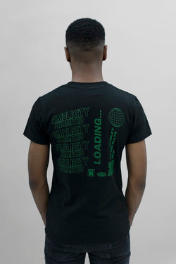 Black / Green Enter The Void T-Shirt