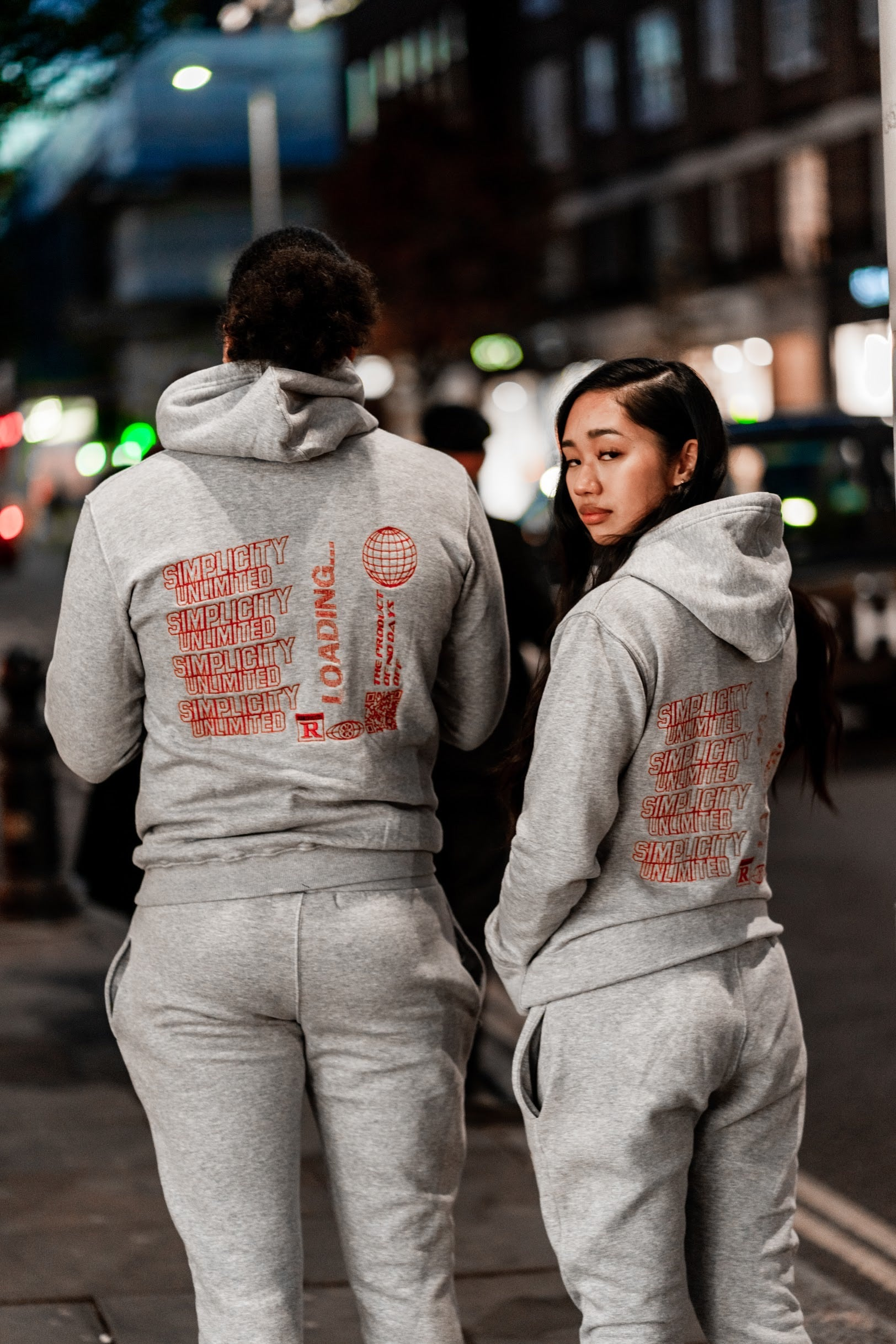 Grey Enter The Void Tracksuit